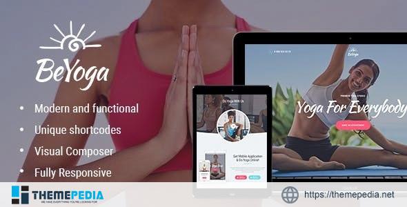 BeYoga – Yogastudio & Gym WordPress Theme [Free download]