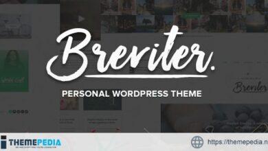 Breviter Pro – handcrafted blog WordPress theme [Free download]