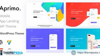 Aprimo – Mobile & App Landing WordPress Theme [Updated Version]