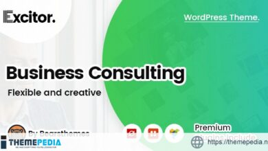 Excitor – Business Consulting WordPress Themes [Free download]