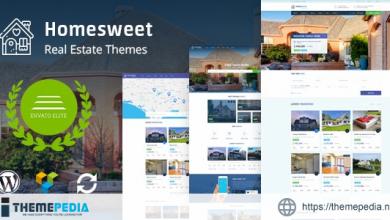 HomeSweet – Real Estate WordPress Theme [Latest Version]