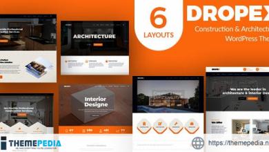 Dropex – Architecture WordPress Theme [Free download]