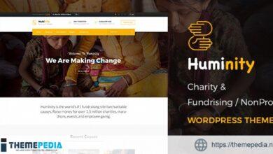 Huminity- Charity-Fundraising WordPress Theme [Free download]