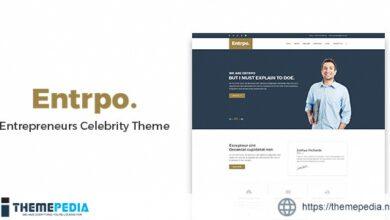 Entrpo – Entrepreneurs Celebrity WrodPress Theme [Free download]