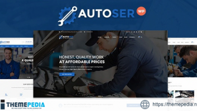Autoser – Car Repair and Auto Service WordPress Theme [Free download]