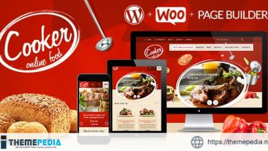 Cooker – Responsive Online Restaurant, Cafe Bar [nulled]