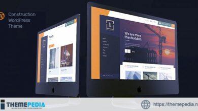 Buildify – Construction WordPress Theme [Free download]