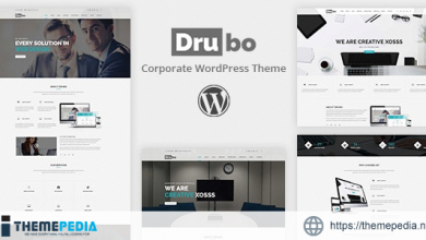 Drubo – Business Corporate WordPress Theme [Free download]