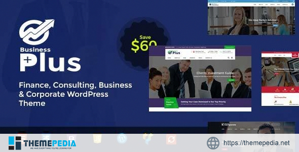Business Plus – Finance Consultancy WordPress Theme [nulled]