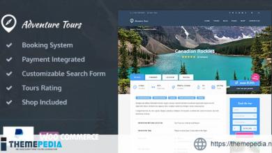 Adventure Tours – WordPress Tour-Travel Theme [Updated Version]