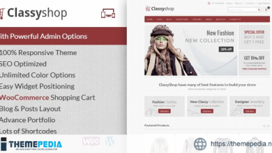 ClassyShop – WooCommerce Responsive Theme [Free download]