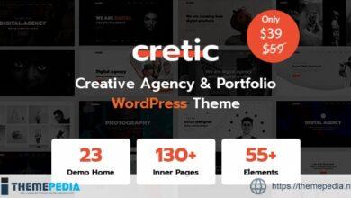 Cretic – Creative Agency WordPress Theme [Updated Version]