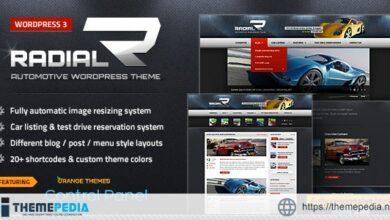 Radial – Premium Automotive & Tech WordPress Theme [Updated Version]
