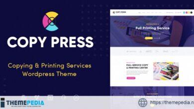 CopyPress – Type Design & Printing Services WordPress Theme [Updated Version]