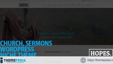 Hopes – Church & Multi-Purpose WordPress Theme [Updated Version]