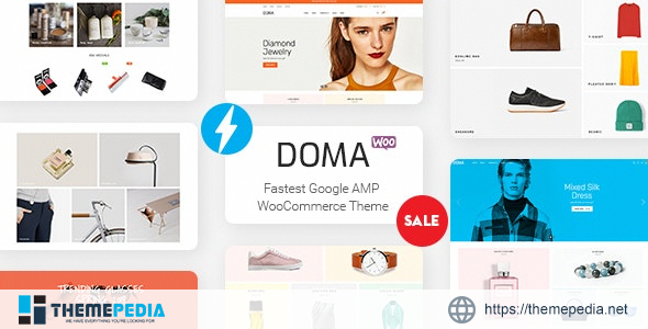 Doma – Google AMP Multi Vendor WooCommerce Theme [Free download]