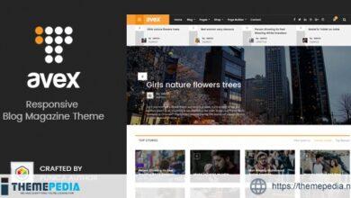 Avex – WordPress Magazine Theme [nulled]