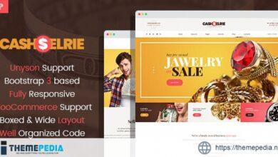 Cashelrie – Pawn Shop WordPress Theme [Free download]