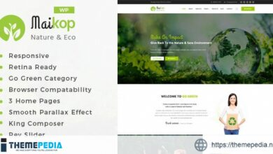 Maikop – Environment WordPress Theme [Latest Version]