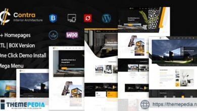 Contra – Architecture And Interior WordPress Theme [Free download]
