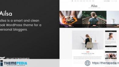 Ailsa – Personal Blog WordPress Theme [Free download]