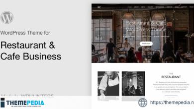 Rc – Restaurant & Cafe Onepage WordPress Theme [Free download]