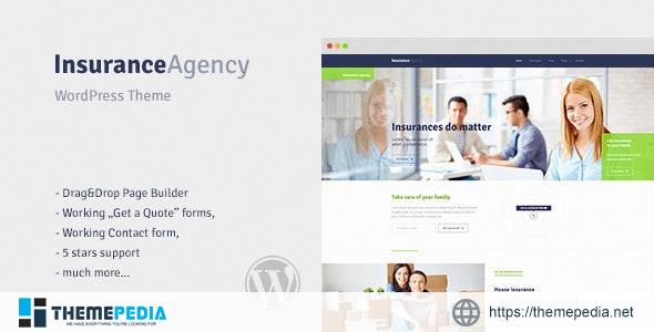 Insurance – WordPress Theme for Insurance Agency [Free download]