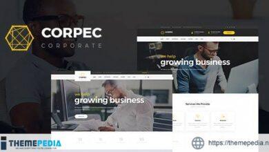 Corpec – Corporate WordPress Theme [Free download]