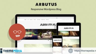 Arbutus – Responsive WordPress Blog Theme [Free download]