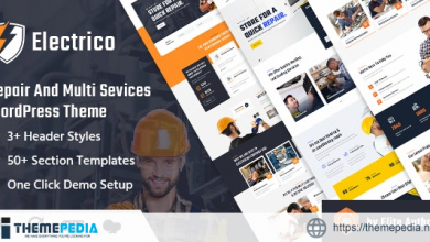 Electrico – Repair and Multi Services WordPress Theme [Free download]