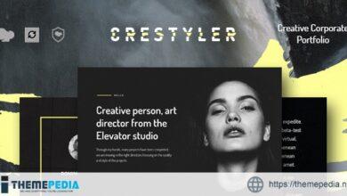 Crestyler – Creative Portfolio WordPress Theme [Free download]