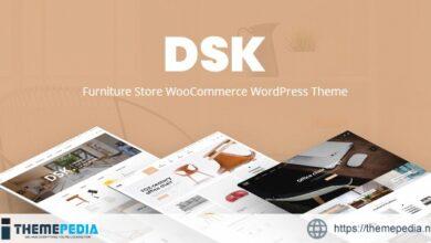 DSK – Furniture Store WooCommerce WordPress Theme [Free download]