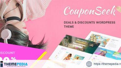 CouponSeek – Deals & Discounts WordPress Theme [Free download]