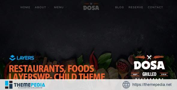 DOSA – LayersWP Multipurpose Child Theme [Latest Version]