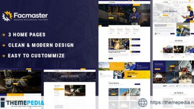 Facmaster – Factory & Industrial WordPress Theme [nulled]