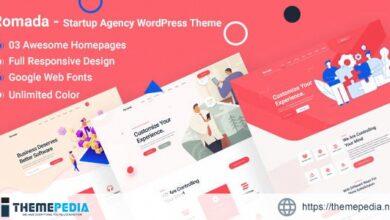 Romada – Startup Agency WordPress [Free download]