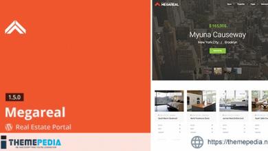 Megareal – Real Estate Portal WordPress Theme [Free download]