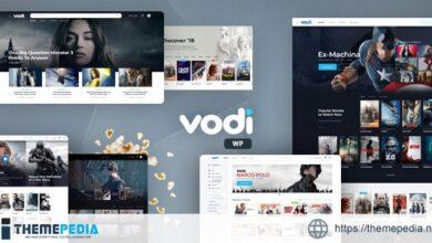 Vodi – Video WordPress Theme for Movies & TV Shows [Free download]