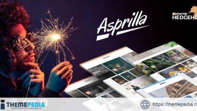 Asprilla – a Multi-Concept Blog Theme For WordPress [Free download]