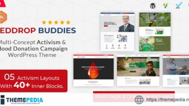 Reddrop Buddies – Multi-Concept Activism & Blood Donation Campaign WordPress Theme [Free download]