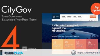 CityGov – City Government & Municipal WordPress Theme [Free download]