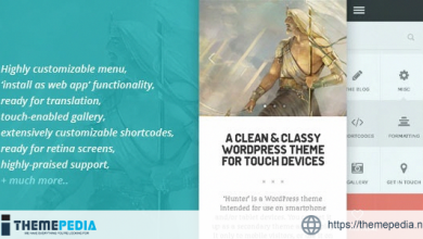 HUNTER – A clean & classy WordPress theme [Free download]