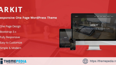 Arkit – Responsive One Page WordPress Theme [Updated Version]