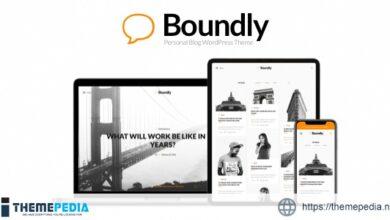 Boundly – Personal WordPress Blog Theme [Free download]
