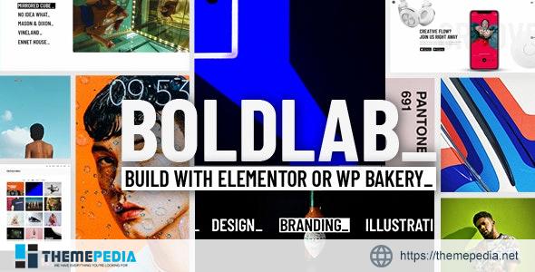 Boldlab – Creative Agency Theme [Free download]