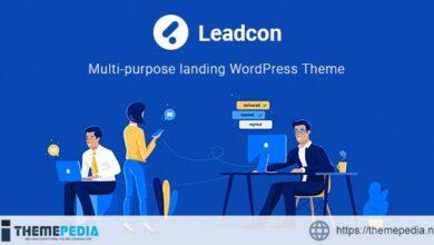 Leadcon -Multipurpose Landing WordPress Theme [Latest Version]
