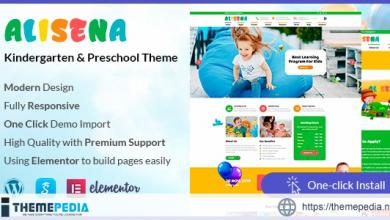 Alisena – Kindergarten & Preschool WordPress Theme [Updated Version]