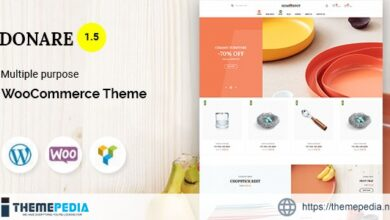 Donare – Gift Store WooCommerce Theme [Free download]
