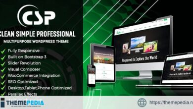 CSP Responsive Multipurpose WordPress Theme [Free download]