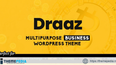 Draaz – Cryptocurrency and Flooring Multipurpose Business WordPress Theme [Free download]